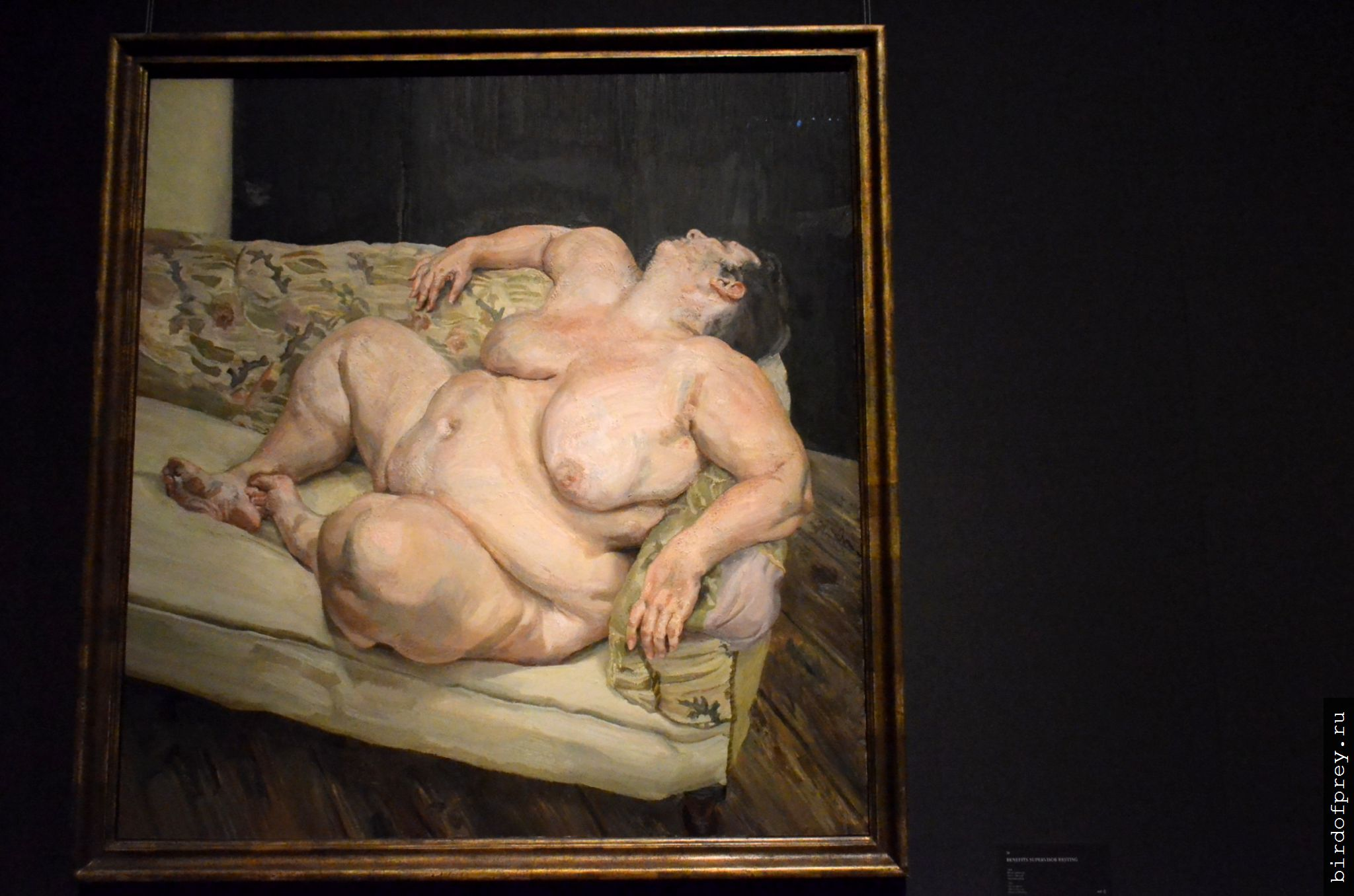 Фото картины спящая домработница фрейд 2 фотография